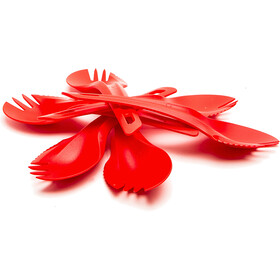 Wildo Spork Set, red
